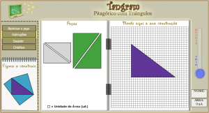 Tangram solution verifier