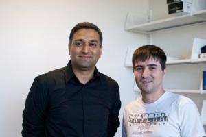 Dr. Ramesh Raskar and me