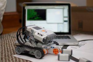 Lego NXT robot
