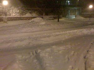 snow street, Cambridge MA
