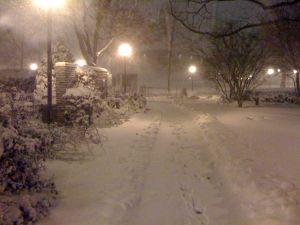 Snow square